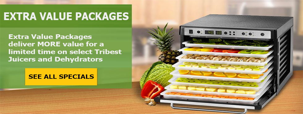 Tribest Special Value Packages on from Harvest Essentials