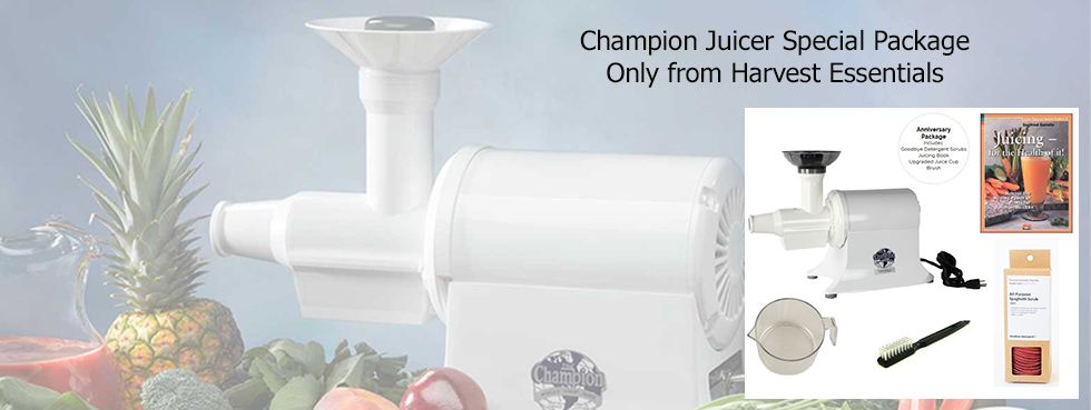 Champion Juicer Special Package
