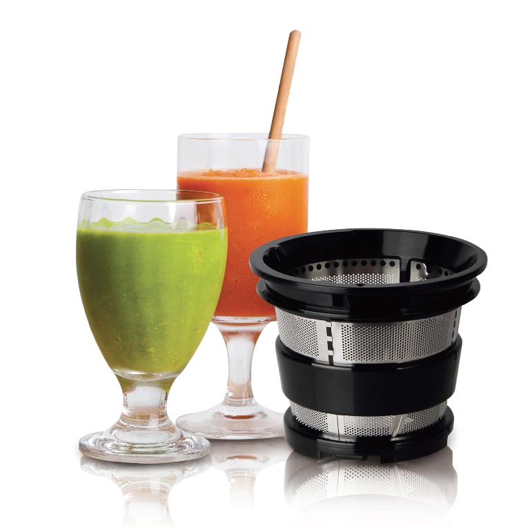 Kuvings B6000PR Upright Juicer Smoothie Strainer Harvest Essentials