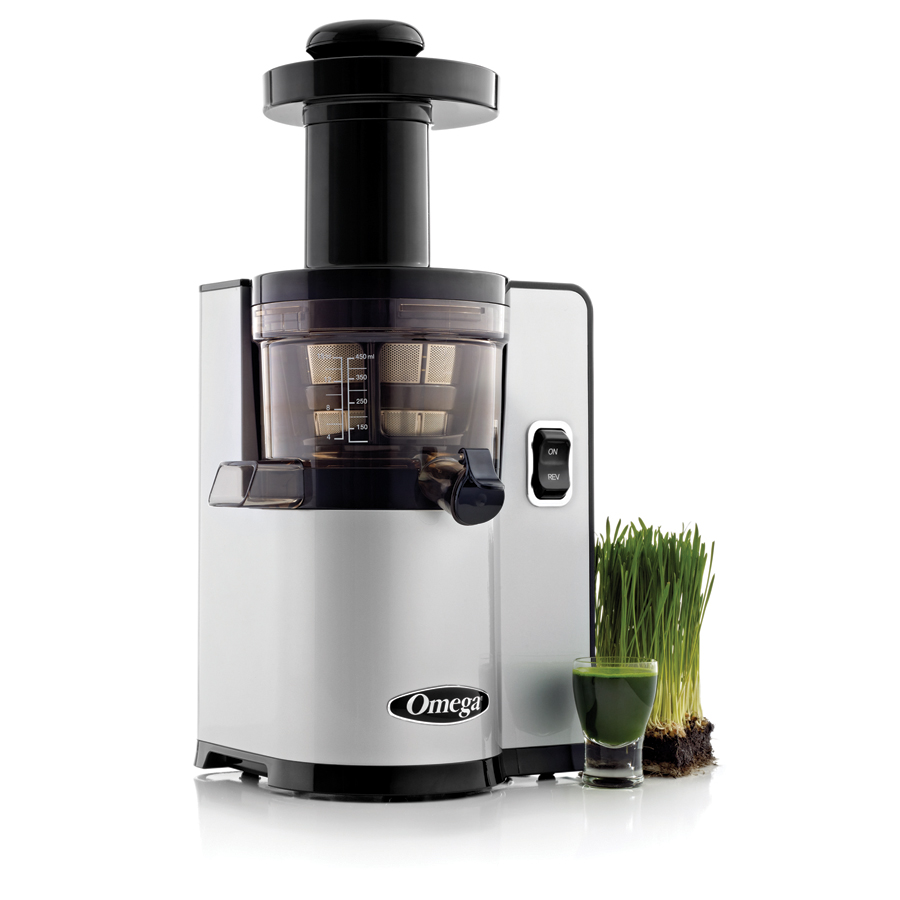 Low Speed Juicer Reviews : Omega vSJ843QS Slow Juicer Omega Harvest Essentials