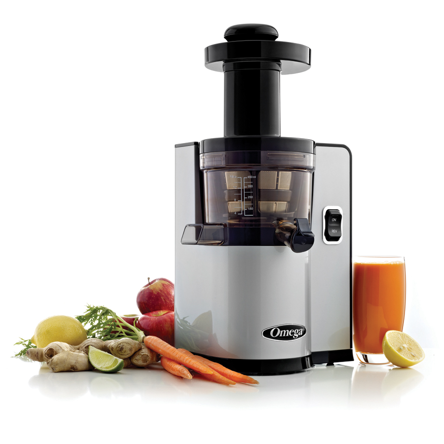 Omega Slow Juicer Review : Omega vSJ843QS Slow Juicer Omega Harvest Essentials
