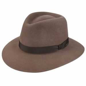 Ammon Fedora in Almond by Bailey of Hollywood