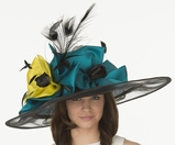 Christine A. Moore's Anisha Derby Hat