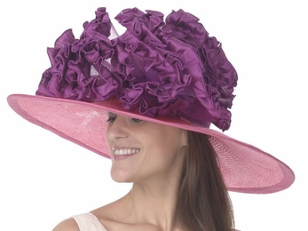 Christine A. Moore's Celina Derby Hat