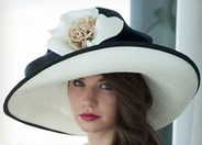 Christine A. Moore's Hibiscus Derby Hat