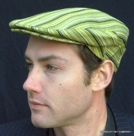 Colorful Italian Striped Ivy Cap