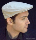 Cotton/Linen Ivy Cap