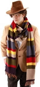 Dr. Who Tom Baker Scarf Officially Licensed