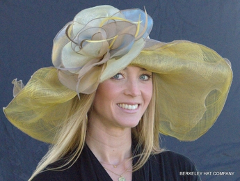 Dynamic MultiColored Hat For The Kentucky Derby