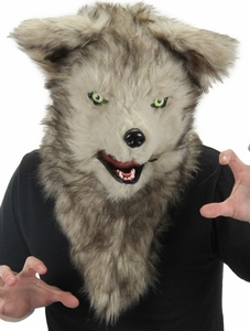 Elope Mouth Mover Mask - Wolf