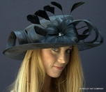Fancy Feather Tea Party Hat