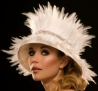 Feather Bell Hat