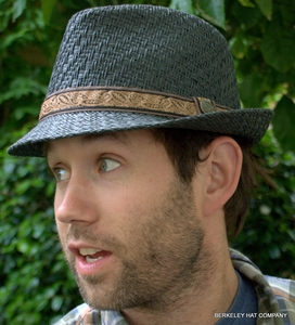 Fedora Hat in Toyo Straw from Scala