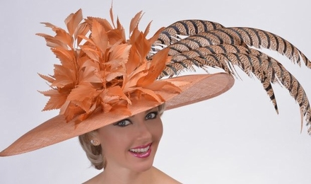 Gold Cup Derby Hat