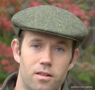 Green Donegal Tweed<br>Irish Ivy Flat Cap (IR06)