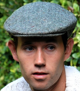 Irish Donegal Tweed Flat Cap (IR03)