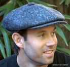Irish Gatsby Cap, Dark Grey Heavy Weight  (IR42)