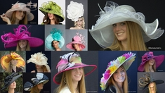 KENTUCKY DERBY HATS & TEA PARTY HATS