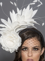 Lulu, Headband Fascinator by Arturo Rios