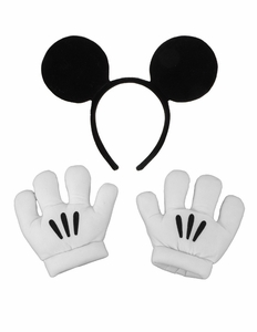 Mickey Ears and Gloves