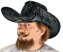 Musketeer Hat in Black from Elope