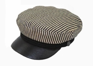 Striped Greek Sailor Cap