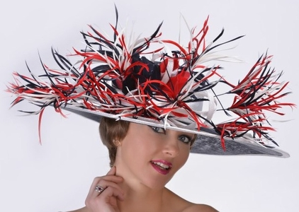 Patriotic Kentucky Derby Hat