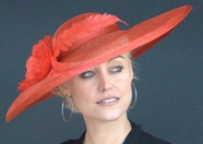 Red Kate's Derby Hat