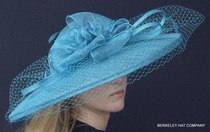 Spectacular Sinamay Hat for the Kentucky Derby