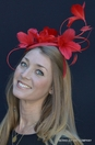 Spring Feather Flower Fascinator