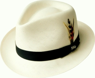The Guthrie Men's Soft Shantung Straw Dress Hat