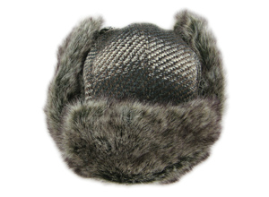Trapper Trooper Hat,  Plaid