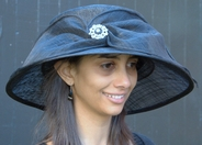 Whimsical Brooch Hat for the Kentucky Derby
