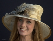 Wild Animal Print Derby Hat