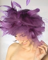 Women's Dramatic Fascinator Hat