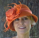 Women's Wool Felt Cloche Hat