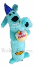 "12"" Birthday Loofa plush (Blue)"