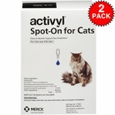 12 MONTH Activyl Spot-On for Cats (over 9 lbs)