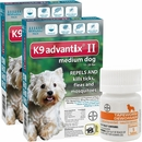 12 MONTH K9 Advantix II TEAL for Medium Dogs (11-20 lbs) + Tapeworm Dewormer for Dogs (5 Tablets)