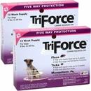 2 PACK - 3 MONTH TriForce Pink for DOGS 9-20 lbs