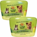 2-PACK Citrus Magic Pet Odor Absorbing Solid Air Freshener - Fresh Citrus (40 oz)