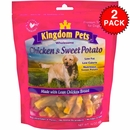 2-PACK Kingdom Pets Chicken & Sweet Potato Jerky Twists (48 oz)