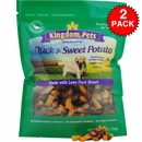 2-PACK Kingdom Pets Duck & Sweet Potato Jerky Twists (48 oz)