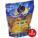 2-PACK Kona's Chips Bits-O-Chips Chicken Jerky fo Small Dogs (16 oz)