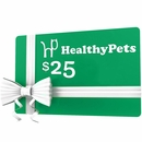 $25 HealthyPets.com Gift Certificate