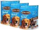 3-PACK 3M Nutri-Dog All Natural Dental Chews LARGE (18 ct)