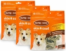 3-PACK 3M Nutri-Dog Skin And Coat Chews SMALL (45 ct)