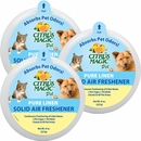 3-PACK Citrus Magic Pet Odor Absorbing Solid Air Freshener - Pure Linen (24 oz)