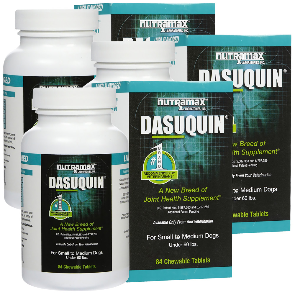 3 pack dasuquin for small to medium dogs 252 chewable tabs. Black Bedroom Furniture Sets. Home Design Ideas