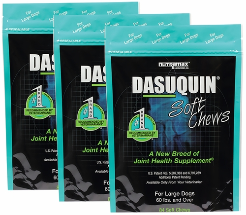 3 pack dasuquin soft chews for large dogs 252 chews. Black Bedroom Furniture Sets. Home Design Ideas